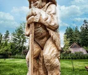 Baca rzeźba w drewnie Zakopane