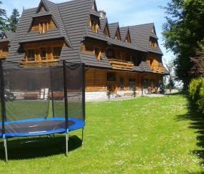 hotel dla rodzin z dziećmi zakopane Karolówka - Ogród Hotelu