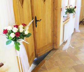 Dekoracja weselna Hotel Karolówka