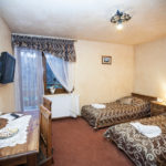 Double room with single beds with balcony