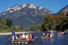 june rafting dunajec river