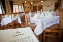 menu restauracji zakopane
