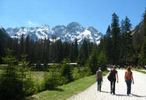 Hiking in the Tatras