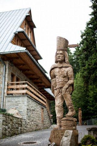Rzeźba w drewnie Zakopane