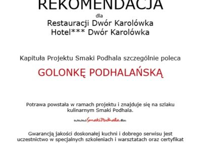 Rekomendacja Restauracji Zakopane