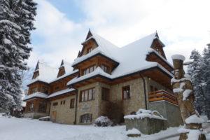 zima hotel zakopane dwor karolówka