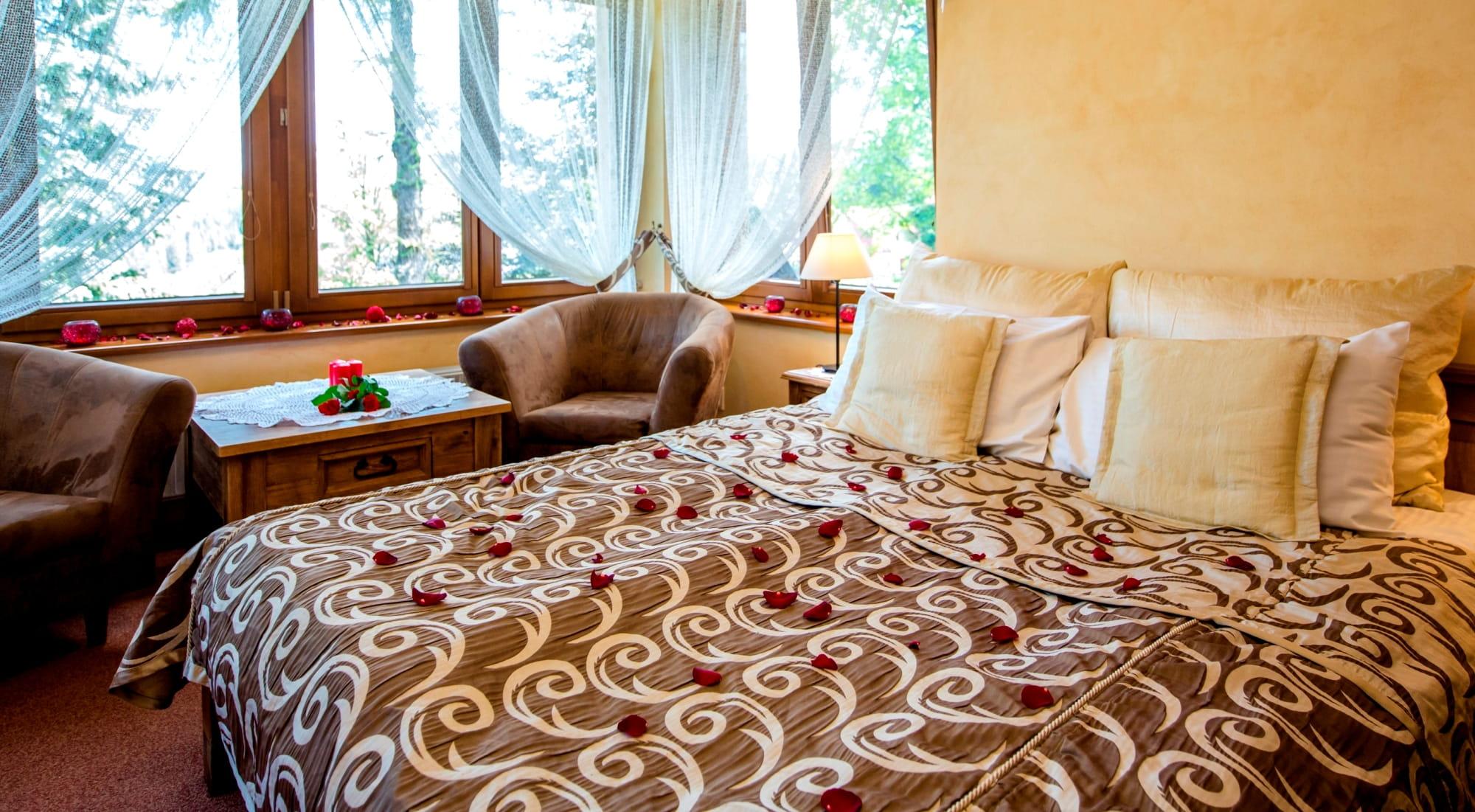 zakopane hotel dwór karolówka pokój romantyczny zakopane hotel romantic room