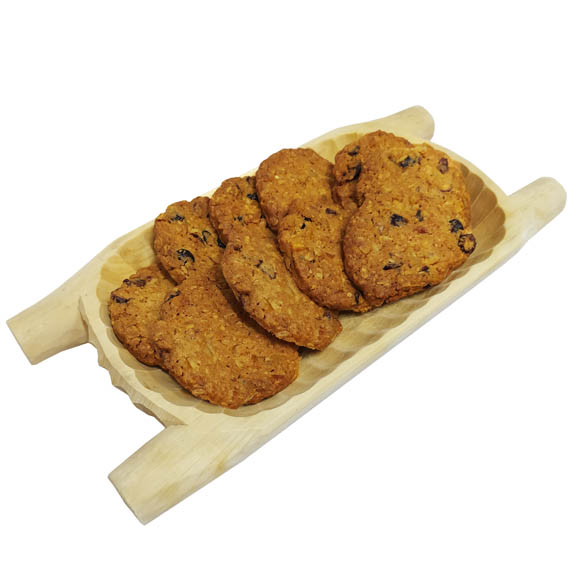 Ciasteczka Owsiane z Żurawiną i OrzechamI
